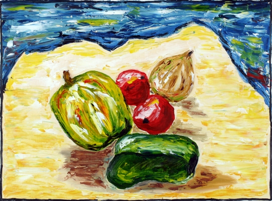 Oil painting 'Still life'
